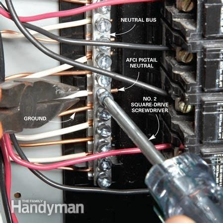 Home Electrical Wiring Circuit Box by Breaker Box Safety How To Connect A New Circuit Safety