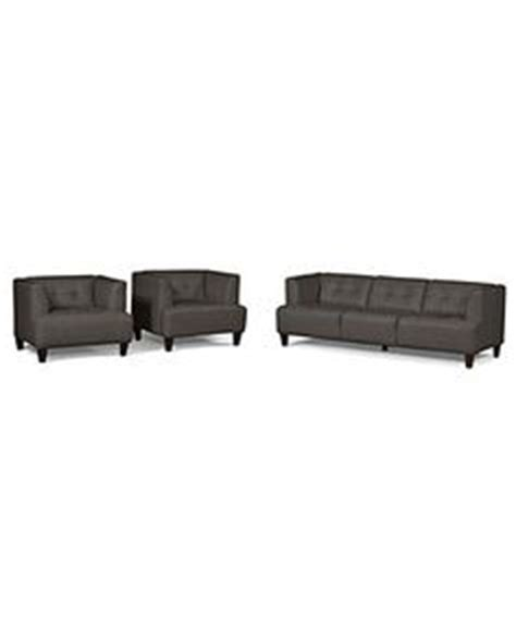 traverso leather 3 piece chaise modular sectional sofa