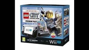 Nintendo Wii U 32gb Lego City Undercover Premium Pack
