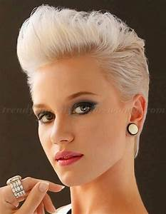 short hairstyles short pompadour hairstyle for women trendy hairstyles for women