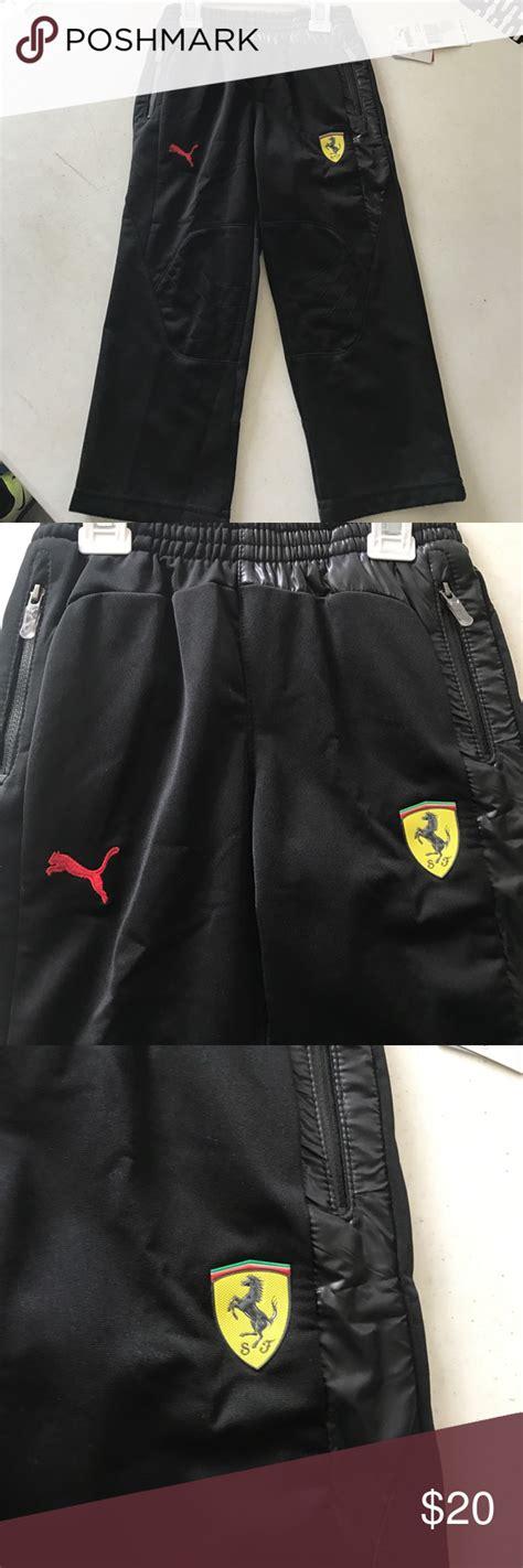 Puma ferrari t7 track koyu gri erkek eşofman. Puma Ferrari track pants NWT   Track pants, Pants, Puma