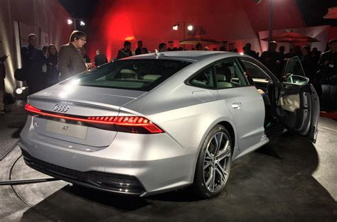 New Audi A7 £52,240 Price For Flagship Fourdoor Coupé