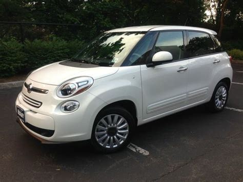 2014 Fiat 500l Easy by Sell Used 2014 Fiat 500l Easy 4 Door Loaded Gps