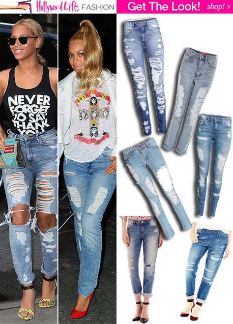 Get Look by Beyonce S Ripped Shop Exact Pair 40 5