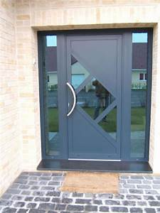 porte d39entree sur mesure calais ad menuiserie With largeur d une porte d entree