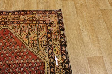 Rust Colored Rug by 70 Years Old Muted Rust Color 4x7 Botemir Persian Oriental