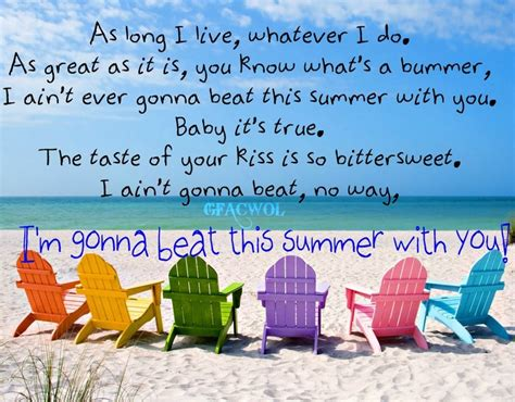 country songs about summer country song quotes about summer quotesgram