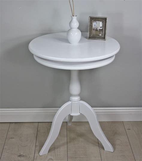 Weiße Runde Tische by Beistelltisch Wei 223 Rund Landhaus Elbm 246 Bel Landhausm 246 Bel