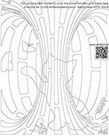 Coloring Hole Cat Butterfly Blackhole Maze Horizon Event Playing Designlooter Colouring Funnycats sketch template