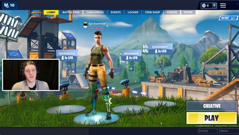 fortnite creative mode shown   youtuber lachlan