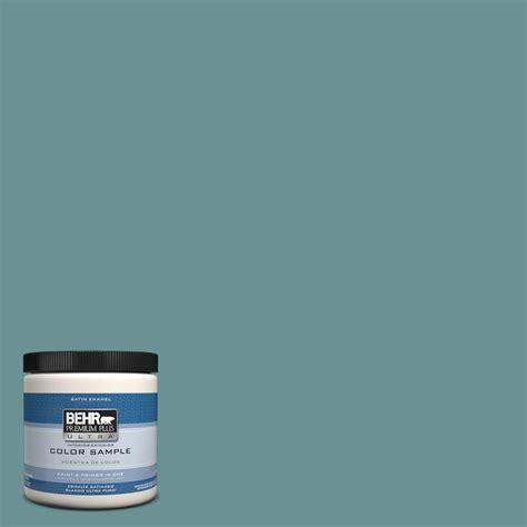behr premium plus ultra 8 oz t15 16 blue clay satin