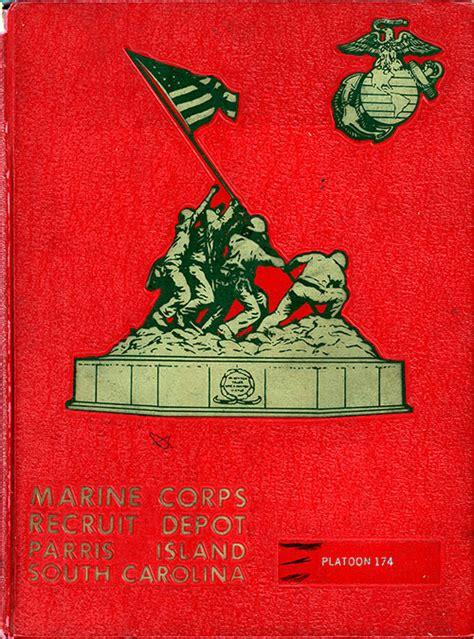 marine boot camp book  platoon  parris island gg