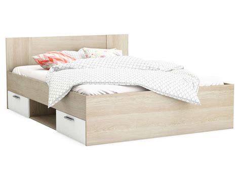 lit adulte 140x190 cm detroit vente de lit adulte conforama