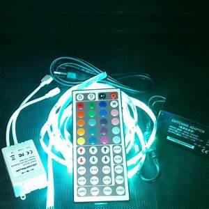 Led Lichtband Mit Batterie : 6m langes lichtband led sehr lang lichterkette 44 tasten ~ Jslefanu.com Haus und Dekorationen