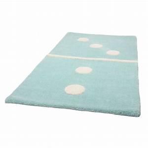 tapis enfant bleu domino 3 2 60x120 With tapis enfant bleu