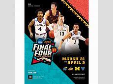 2018 NCAA Division I Men's Basketball Final Four Program