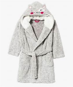 Robe De Chambre Ado Fille : robe de chambre capuche en pilou pilou pour fille g mo ~ Teatrodelosmanantiales.com Idées de Décoration