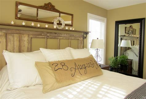 Down To Earth Style {vintage, Rustic Master Bedroom}