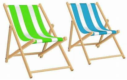 Chairs Clip Clipart Vacation Transparent Chair Playa