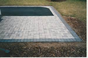 Outdoor Concrete Patio Pavers