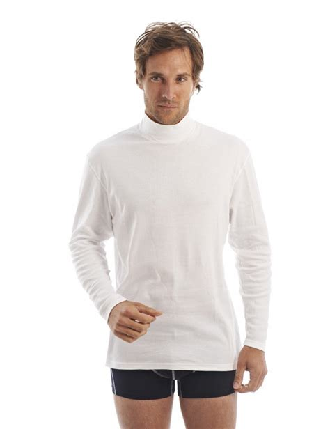 pull homme col montant sous pull col montant homme en coton