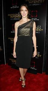 Amy Acker - Person of Interest 100th Episode Celebration ...