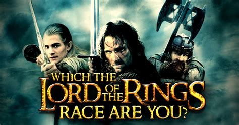"""Which """"the Lord Of The Rings"""" Race Are You?  Brainfall"""