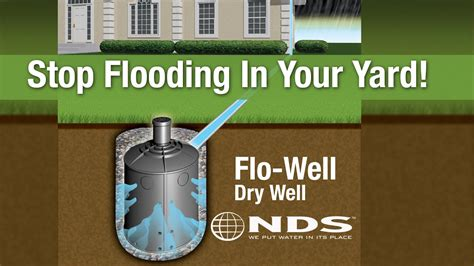 install nds flowell dry  drainage system youtube