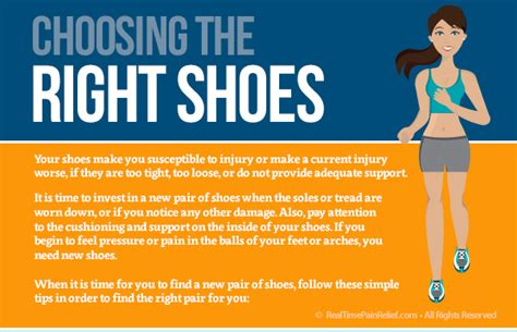 Choosing The Right Shoes