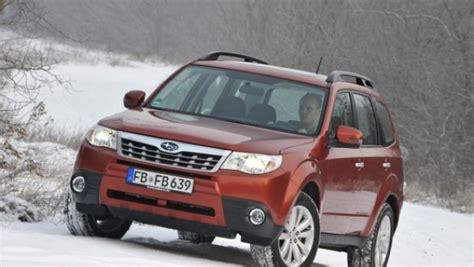 Foto Ufficiali Subaru Forester Model Year 2011