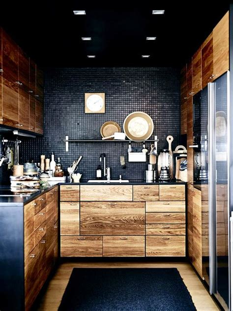 moody dark kitchen decor ideas digsdigs