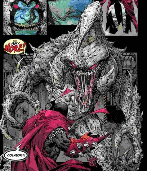 todd mcfarlane teases  spawn villain violator action