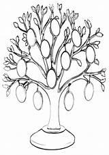 Tree Coloring Magic sketch template