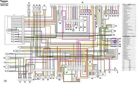 Tiger 1050 Wiring Power Schematic by Elektrisches Prob Ladespannung Wer Hat Eine Idee