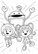 Umizoomi Coloring Pages Fun sketch template