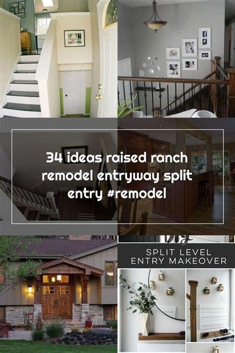 ideas raised ranch remodel entryway split entry remodel   raised ranch remodel