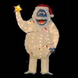 rudolph island of misfit toys bumble 60 3 d tinsel pre lit christmas yard decor ebay