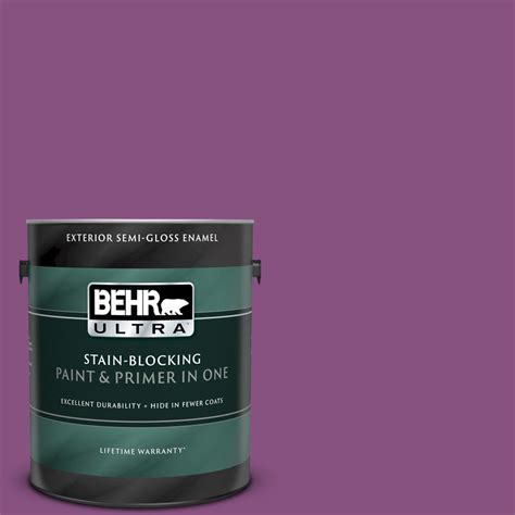 behr ultra 1 gal home decorators collection hdc md 07 dynamic magenta gloss enamel