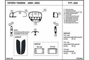 2000 Toyota Tundra Dash Kits