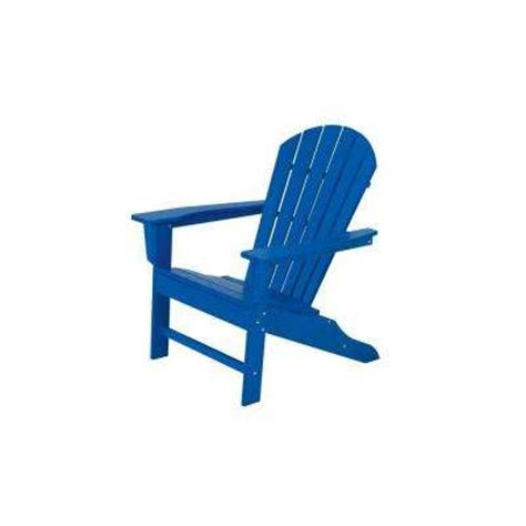 Blue Plastic Adirondack Chairs Home Depot by Blue Adirondack Chairs Patio Chairs The Home Depot