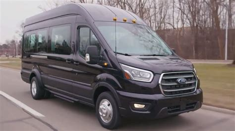 ford transit cargo passenger official launch