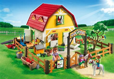 bureau playmobil playmobil set 5222 children s pony farm klickypedia