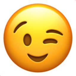 winking face emoji uf