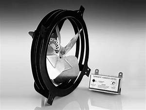 18 U0026quot  Electric Gable Vent Fan With Thermostat