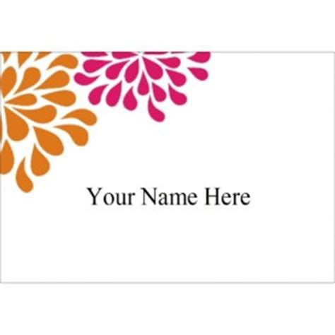 avery template 88395 templates wedding shower pink orange flowers name badge label 8 per sheet avery
