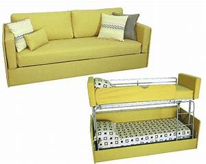 Sofa That Turns Into Bunk Beds Transforming Sofa Bunk Bed