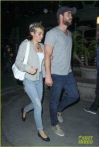 Daydream Stars: Miley Cyrus & Liam Hemsworth Hold Hands on ...