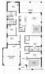 best 25 4 bedroom house ideas on pinterest 4 bedroom With house plan for four bedroom