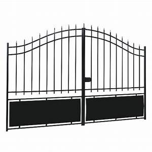 Portail En Fer Lapeyre : portails battants tous les fournisseurs portail ~ Premium-room.com Idées de Décoration