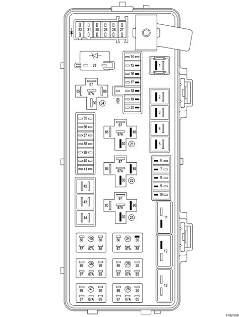 Chrysler 300 Touring Fuse Box Diagram For 2006 by Chrysler 300 Fuse Diagram Wiring Diagram